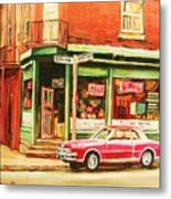 The Arcadia Five And Dime Store Metal Print