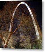 The Arch 3 St Louis Missouri Gateway Arch Art Metal Print