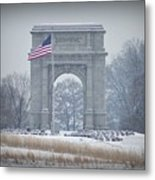The Arch At Valley Forge Metal Print