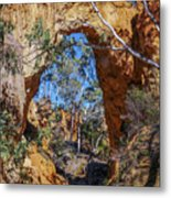 Golden Gully Gold Mine Metal Print