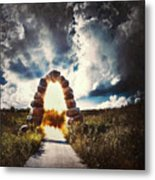 The Arch On The Edge Of Forever Metal Print