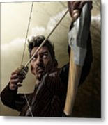 The Archer Metal Print