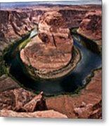 The Arizona Horsehoe Bend Of Colorado River Metal Print by Ryan Kelly