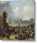 The Arrival Of Louis-philippe Metal Print