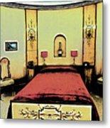 The Art Deco Bedroom Metal Print