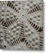 The Art Of Crochet  Metal Print