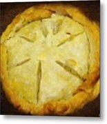 The Art Of The Pie Metal Print