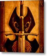 The Art Of War - Eternal Portrait Of A Warrior Metal Print