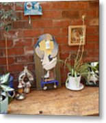 The Artists Bench Metal Print
