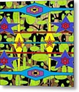 The Arts Of Textile Designs #28 Metal Print