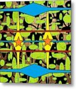 The Arts Of Textile Designs #3 Metal Print
