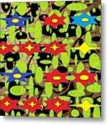The Arts Of Textile Designs #42 Metal Print