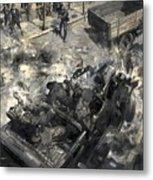 The Assassination Of Reinhard Heydrich Metal Print