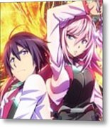 The Asterisk War The Academy City On The Water Metal Print