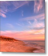 The Atlantic Coast At Sunrise Metal Print