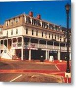 The Atlantic House Inn - York Beach, Maine Metal Print