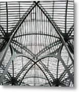 The Atrium At Brookfield Place - Toronto  Ontario Canada Metal Print