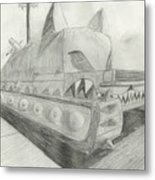 The Attack Tank Metal Print