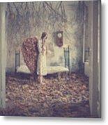 The Autumn Angel Metal Print