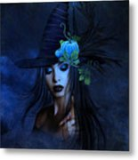 The Autumn Witch 02 Metal Print