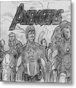 The Avengers Metal Print