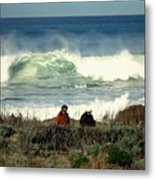 The Awesome Pacific In All Her Glory Metal Print