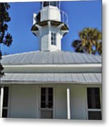 The Back Of The Lighthouse Metal Print