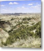 The Badlands Metal Print