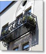 The Balcony Metal Print