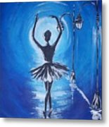 The Ballerina Dance Metal Print