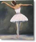 The Ballerina V Metal Print
