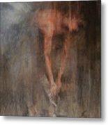 The Ballet Dancer Swan Lake Metal Print by Elisabeth Nussy Denzler von Botha