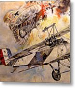 The Balloon Buster Metal Print