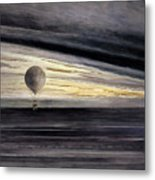 the balloon zenith during a long distance flight from paris to bordeaux painting by french school. Black Bedroom Furniture Sets. Home Design Ideas