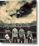 The Band Has Arrived Metal Print