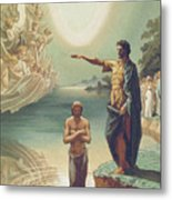 The Baptism Of Christ Metal Print