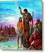 The Baptism Of Jesus Metal Print