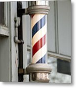 The Barber Shop 4 Metal Print by Angelina Vick