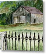 The Barn At Parsonsfield Maine Metal Print