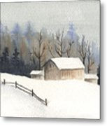 The Barn Metal Print