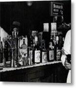 The Bartender Is Back - Prohibition Ends Dec 1933 Metal Print