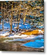 The Basin At Franconia Notch Metal Print