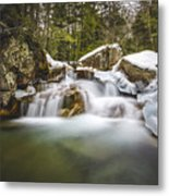 The Basin Cascades Metal Print