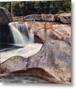 The Basin Pano Metal Print