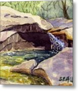 The Basin Metal Print