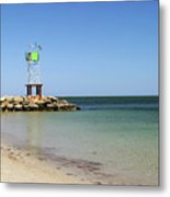The Bass River Jetty South Yarmouth Cape Cod Massachusetts Metal Print