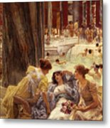 The Baths Of Caracalla Metal Print