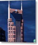 The Batman Building - Nashville Metal Print