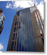 The Batman Building Nashville Tn Metal Print