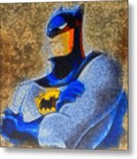 The Batman - Da Metal Print